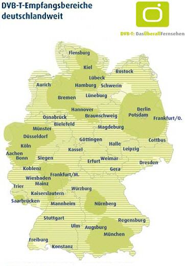 dvb t karte Dvb T Schleswig Holstein Karte | Kleve Landkarte